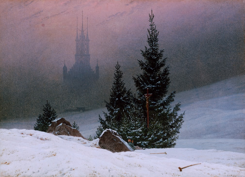 Winter Landscape by Caspar David Friedrich (1811)