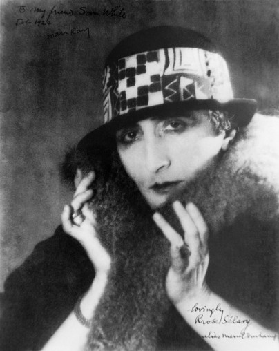 rrose selavy duchamps 1920 - foto door man ray