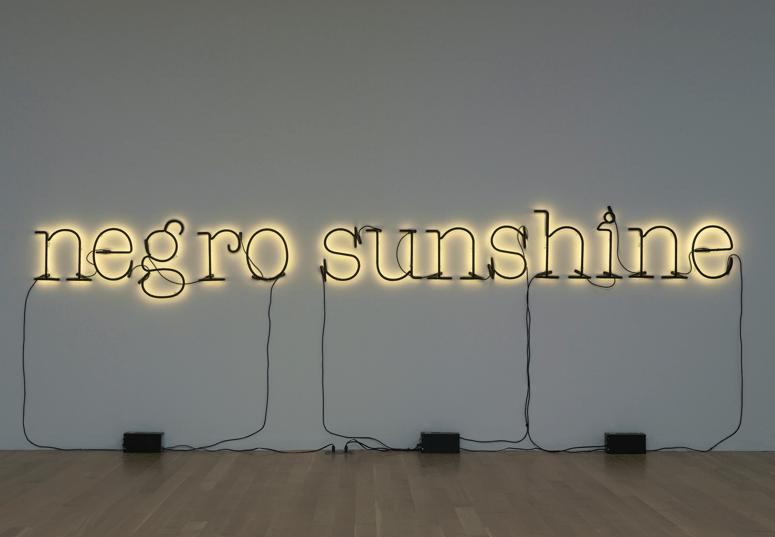 "GLENN LIGON, ""Warm Broad Glow,"" 2005"